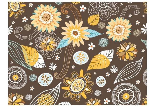 Fototapeta - Ażurowe kwiaty