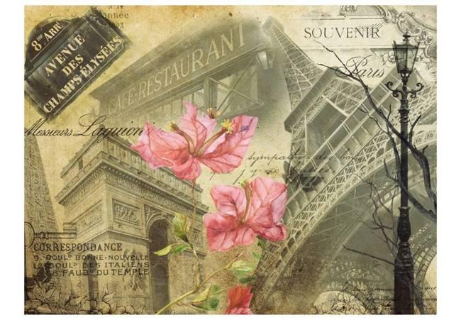 Fototapeta - Bonjour Paris!