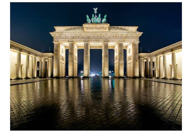 Fototapeta - Brama Brandenburska nocą