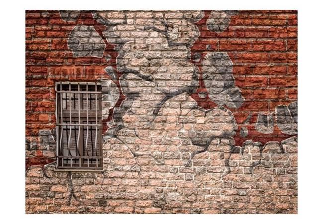 Fototapeta - Break the wall