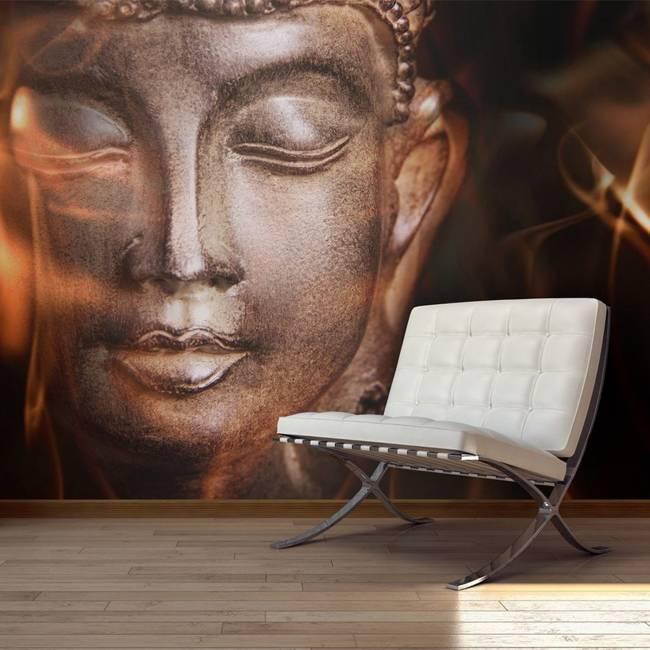 Fototapeta - Buddha. Fire of meditation.
