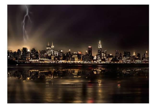 Fototapeta - Burza w Nowym Jorku