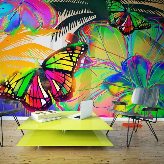 Fototapeta - Butterflies in the stomach