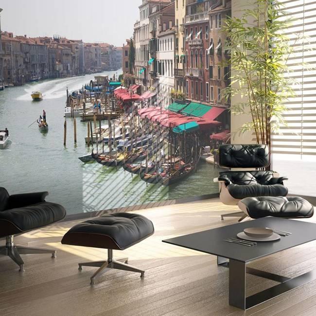 Fototapeta - Canal Grande w Wenecji, Włochy