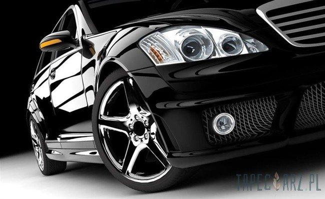 Fototapeta Czarny samochód 416