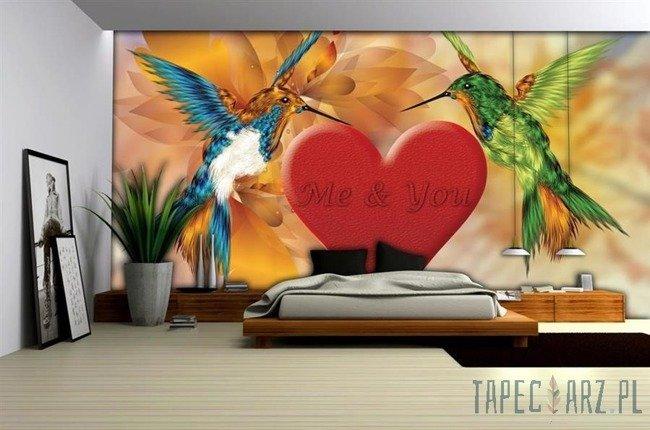 Fototapeta Dwa zakochane kolibry 785