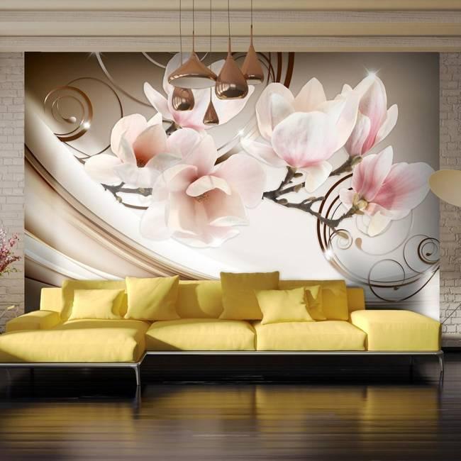 Fototapeta - Fale Magnolii
