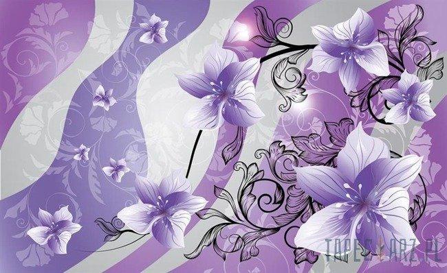 Fototapeta Fioletowe kwiaty 1236