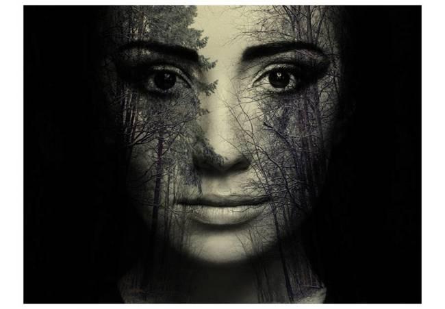 Fototapeta - Forest mask