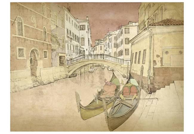 Fototapeta - Gondolas in Venice