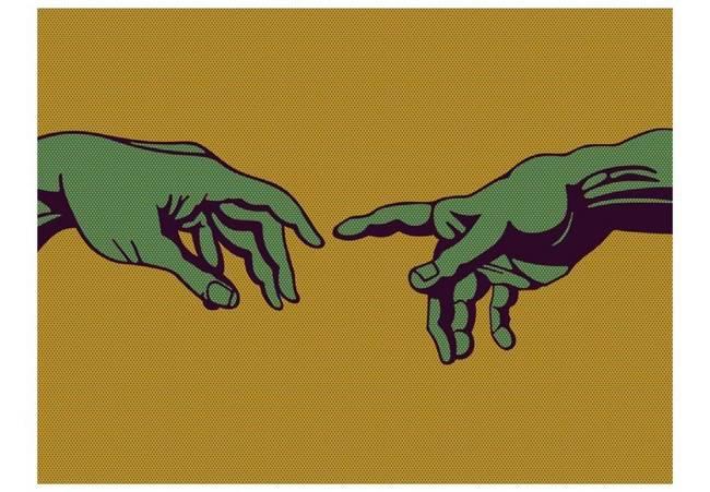 Fototapeta - Green touch