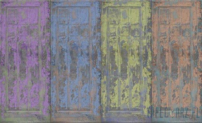Fototapeta Kolorowe drzwi 2911