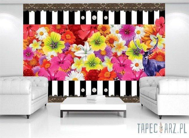 Fototapeta Kolorowe kwiaty 2385