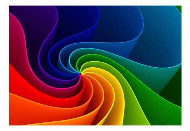Fototapeta - Kolorowy wiatraczek