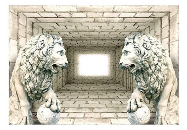 Fototapeta - Komnata lwów