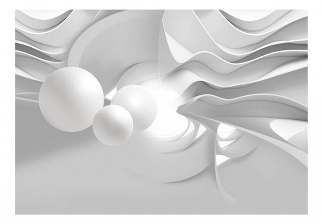 Fototapeta - Korytarze bieli
