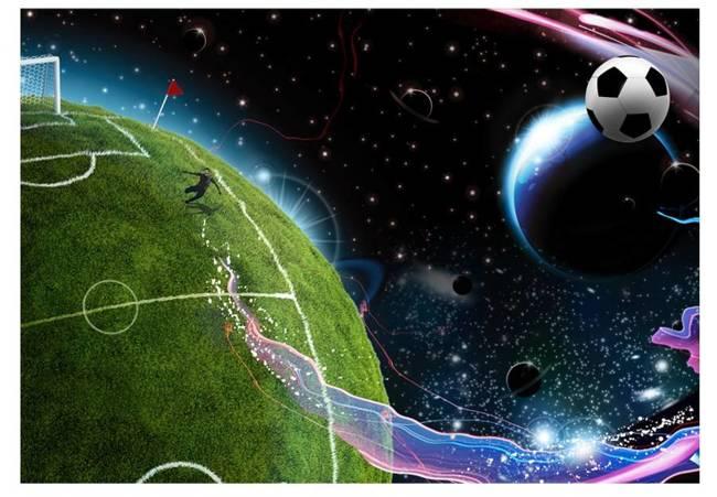 Fototapeta - Kosmiczny mecz