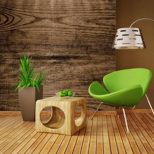 Fototapeta - Lite drewno