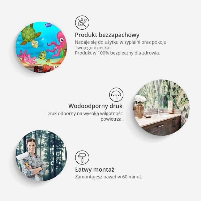 Fototapeta - Litery z drewna