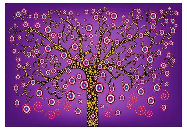 Fototapeta - Magiczne drzewo