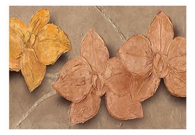 Fototapeta - Malowane storczyki