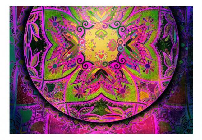 Fototapeta - Mandala: Różowa ekspresja