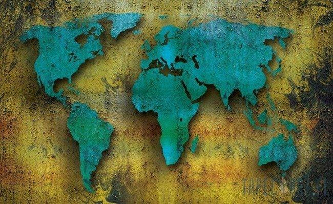 Fototapeta Mapa świata 2893
