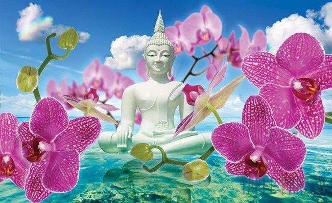 Fototapeta Medytujący Budda 2141