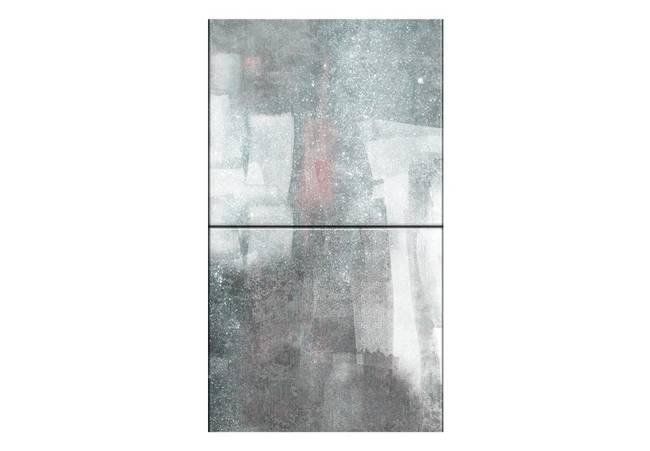 Fototapeta - Miasto otulone deszczem