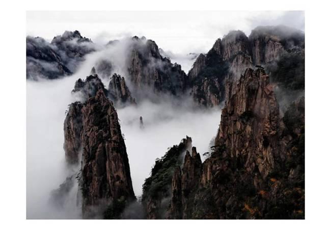 Fototapeta - Morze Chmur, Huang Shan, Chiny