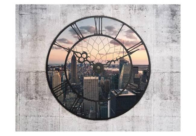 Fototapeta - NYC Time Zone