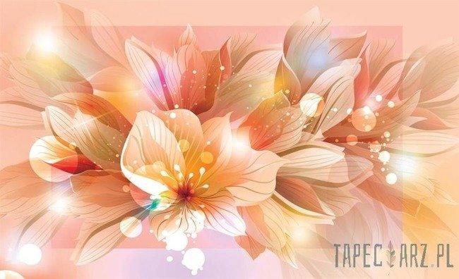 Fototapeta Pomarańczowe kwiaty 764