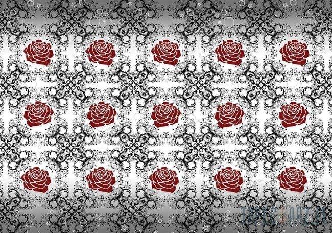 Fototapeta Róża - vintage 2552