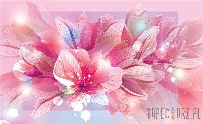 Fototapeta Różowe kwiaty 763