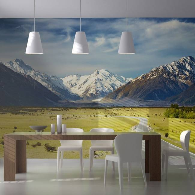 Fototapeta - Southern Alps, New Zealand