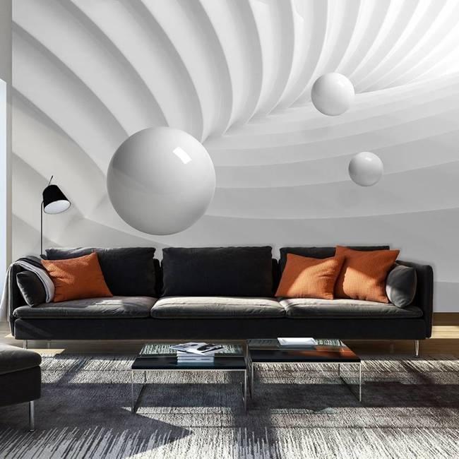 Fototapeta - Symetria bieli