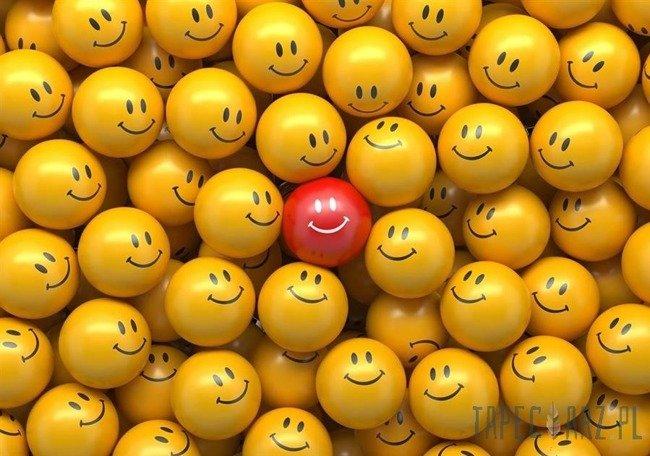 Fototapeta Uśmiechnij się! - emotki 3698