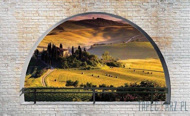 Fototapeta Widok na Toskanię 2839