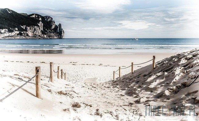 Fototapeta Zejście na plażę 2282