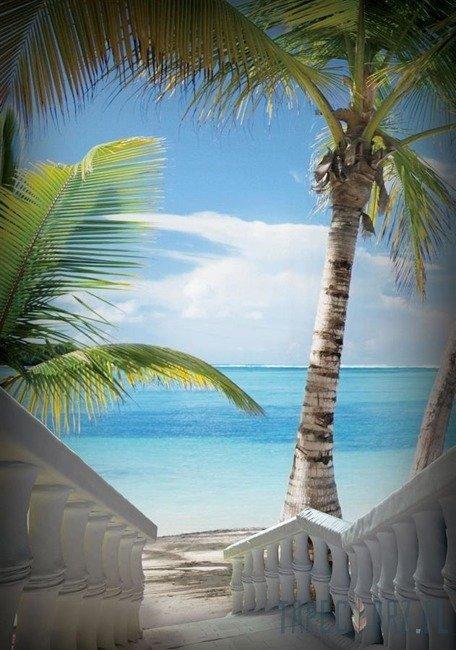 Fototapeta Zejście na plażę 829