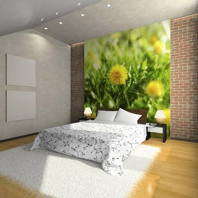 Fototapeta - Żółty kwiatowy dywan