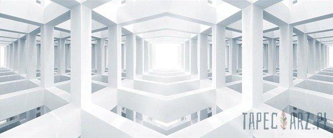 Fototapeta na flizelinie Abstrakcja - korytarze 3d 3325VEP