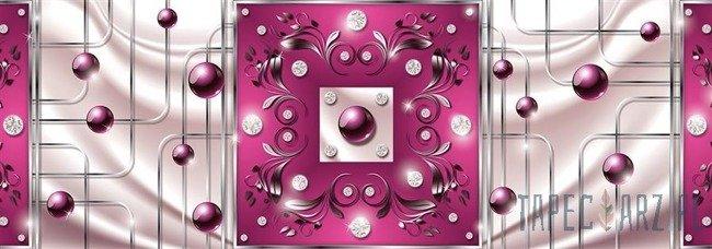 Fototapeta na flizelinie Abstrakcja - różowy motyw 2715VEE