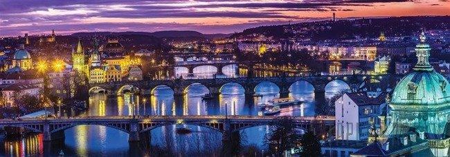Fototapeta na flizelinie Praga wieczorem 2877VEE