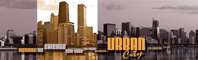 Fototapeta na flizelinie Urban City 1498VEE