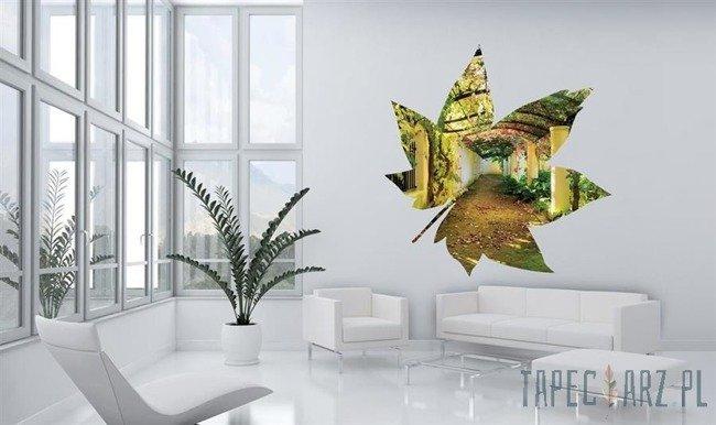 Fototapeta w kształcie liścia - Pergola 907