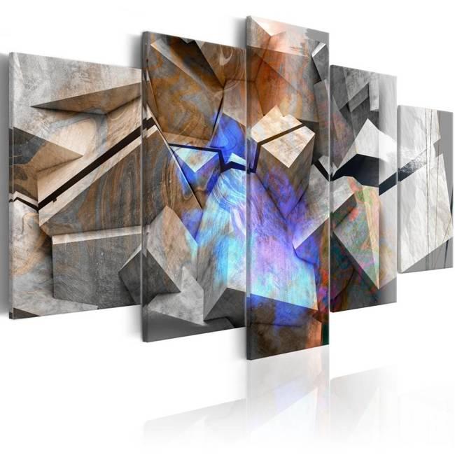 Obraz - Abstrakcyjne sześciany