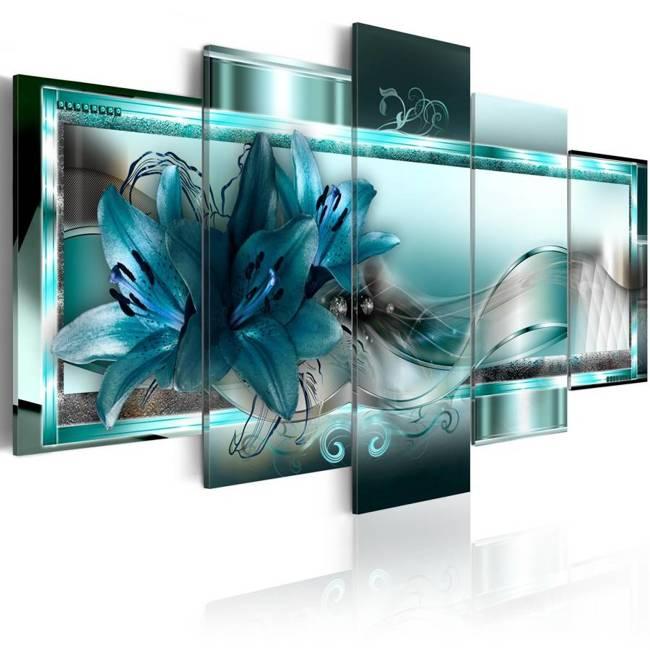 Obraz - Błękitne lilie