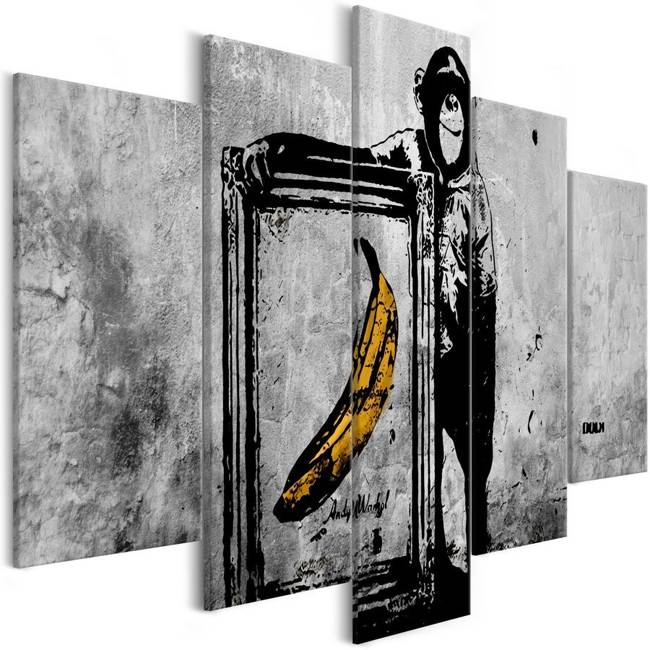Obraz - Dumna małpa (5-częściowy) szeroki