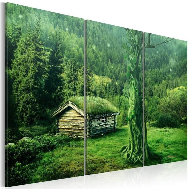 Obraz - Ekosystem leśny